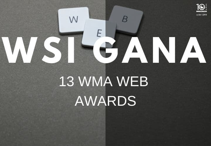WSI gana 13 WMA web awards